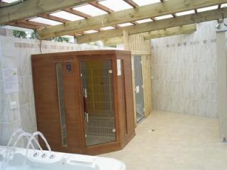 Espace sauna relaxation