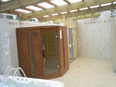 Camping avec espace spa sauna hammam hyeres var 83 for Espace sauna hammam